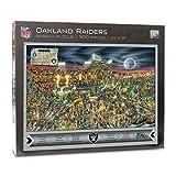 NFL Oakland Raiders Unisex Youthefannfl Joe Journeyman Puzzle - 500 pc, Team, 18'' x 24'' - Finished Puzzle Size