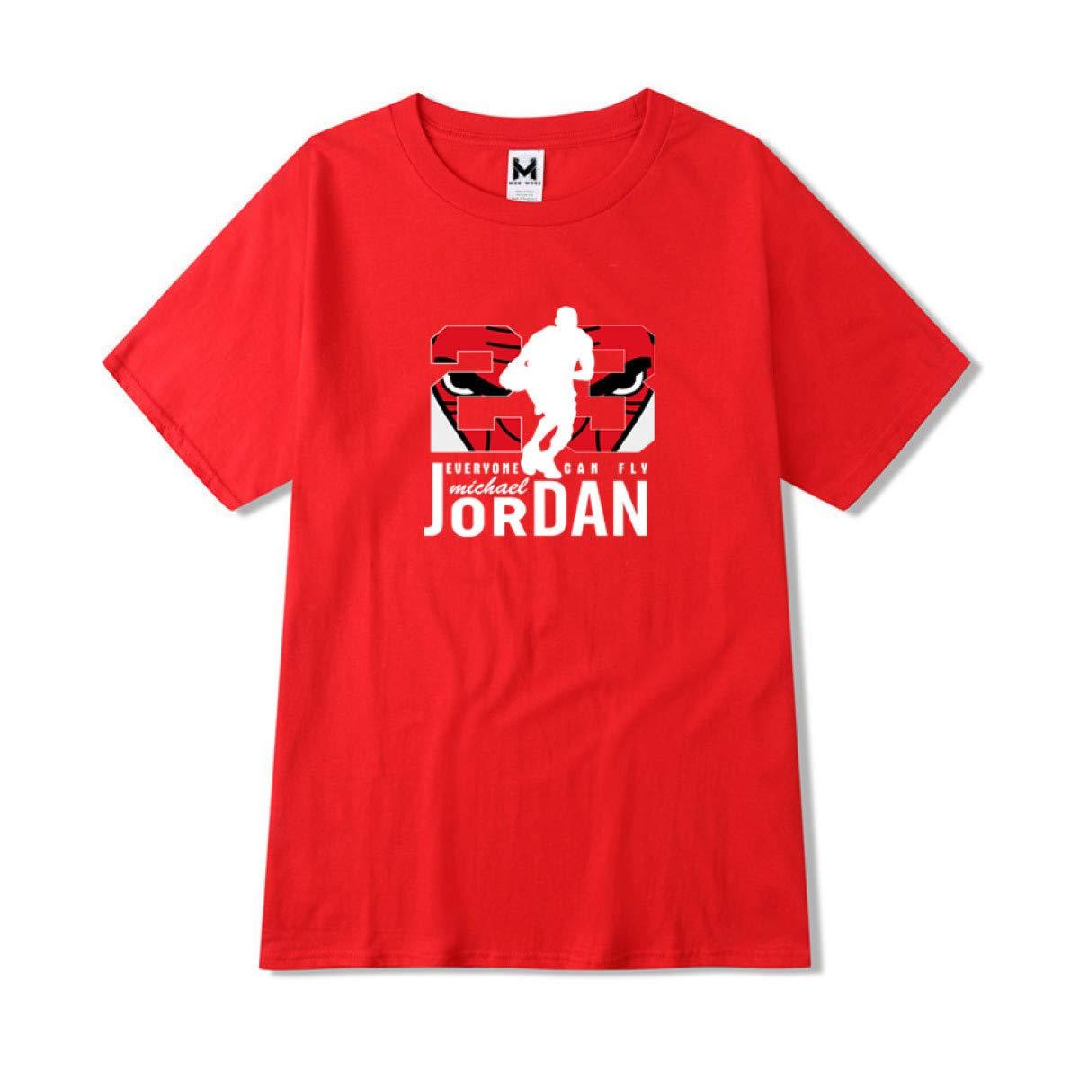 9b86f27c24f0 Amazon.com  Jordan 23 T Shirt Cotton Men t Shirt Man Round Collar Large  Code T-Shirt  Clothing