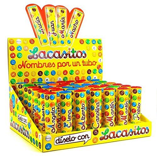 Lacasitos Expositor 42 Tubos Con Nombres: Amazon.es: Alimentación y bebidas