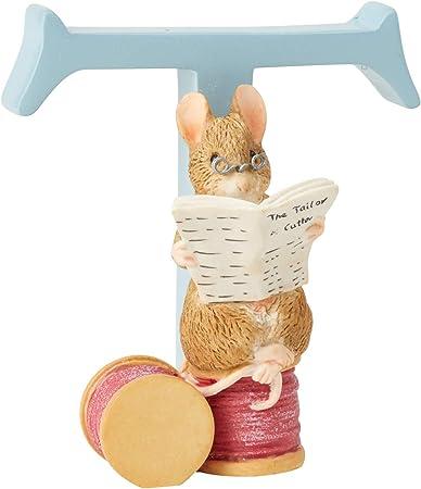 Enesco Beatrix Potter Benjamin Bunny con la Lettera B
