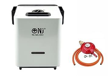 NJCH-01 - Juego de Calentador de Gas Portátil para Acampada (Incluye regulador de