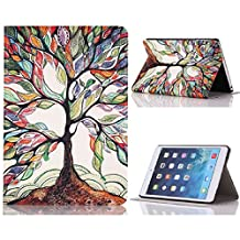 Roodfox Tree Of Life Flip Stand Leather Case Cover For iPad Mini 1 2 3 Retina