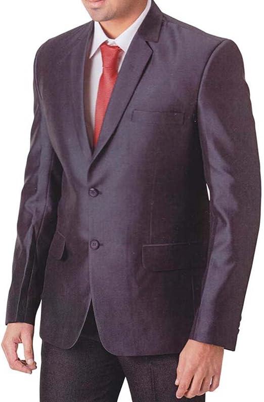 INMONARCH Hombres vino púrpura 4 Pc Smoking Traje de moda ropa ...