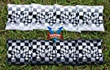 Victory Tailgate Custom Checkered Flag Cornhole Bag Set (corn Filled)