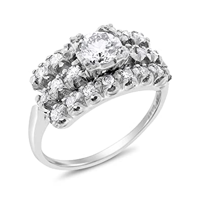 a7758cae7272d Desire My Diamonds 1.02 Ct. Vintage Estate Diamond Engagement Ring ...