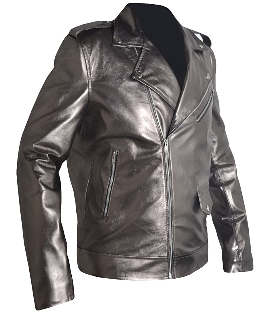 QuickSilver Even Peter X MEN Apocalypse Leather Jacket, FAUX Leather, XXS-3XL at Amazon Mens Clothing store: