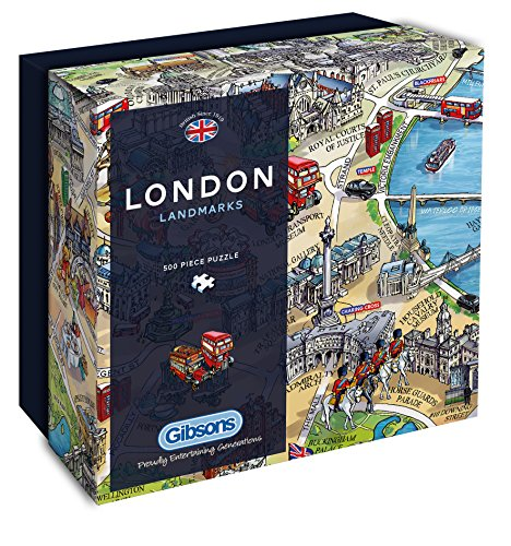 Gibsons London Landmarks Jigsaw Puzzle product image