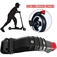 Krystallove - Guardabarros Trasero para Scooter eléctrico