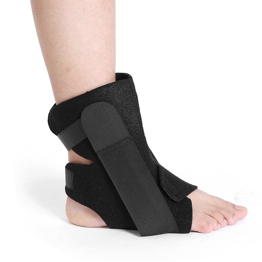 Ankle Support Brace Adjustable Breathable for Men Women Plantar Fasciitis Chronic Ankle Strain, Sprains Fatigue Correct Abnormal Foot Strephenopodia and Eversion