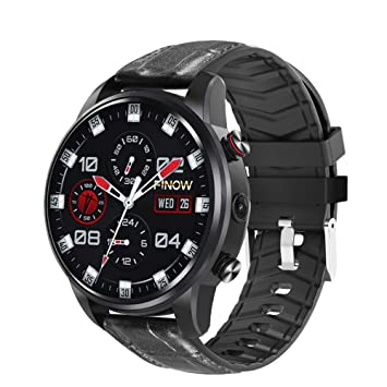 Amazon.com: X7 4G Smart Watch MTK6739 Android 7.1 Quad Core reloj inteligente for Men 1.39 Inch AMOLED 2MP Pixel Smartwatches,Black: Electronics
