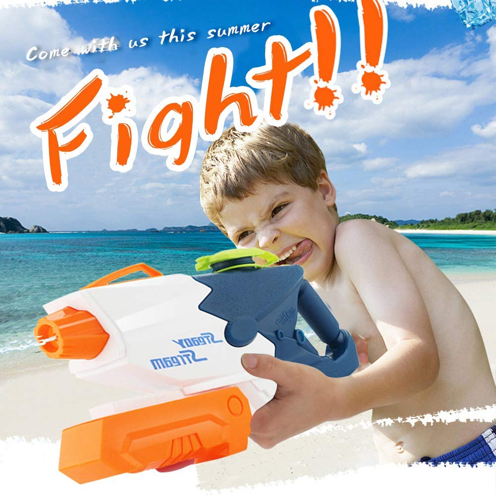 Shindel 2PCS Squirt Guns Water Guns, High Capacity Water Soaker Blaster Squirt Toy Beach Sand Water Fighting Toy