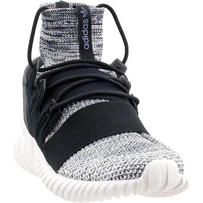 official photos ce26e dc0d9 adidas Originals Mens Tubular Doom PK Running Shoe BlackGrey ThreeTECH  Ink 7.5