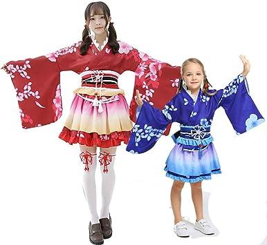 Japón Verano Fiesta Madre e hija cosplay edad Mujeres Kimono ...