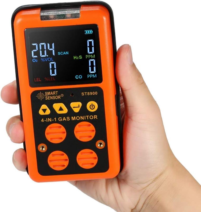 Uyuke Fire Smoke Sensor Detector Alarm Tester Security System Cordless Tool