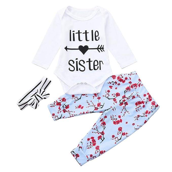 K-youth Ropa Bebe Niña Invierno Otoño Conjunto Bebe Recién Nacido Niña Bebé Camiseta y