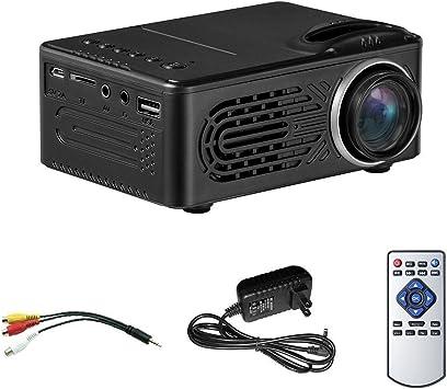 SODIAL Mini proyector LCD, Multimedia Proyector de Cine en casa ...