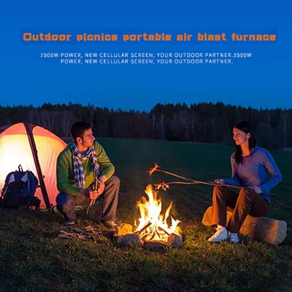 Macabolo 3500W Faltbarer Campinggaskocher f/ür Picknick winddichter Rucksackkocher mit elektronischer Z/ündung