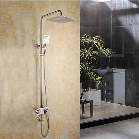 Cabezal de ducha tipo lluvia Cabezal de ducha tipo 304 Acero ...