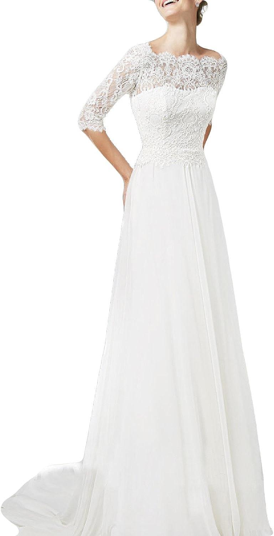 Oyisha Women S Lace Wedding Dresses With Short Sleeve Long Boat Neck Bride Dress Ivory 22w At Amazon Women S Clothing Store,Vintage Pin Up Wedding Dresses