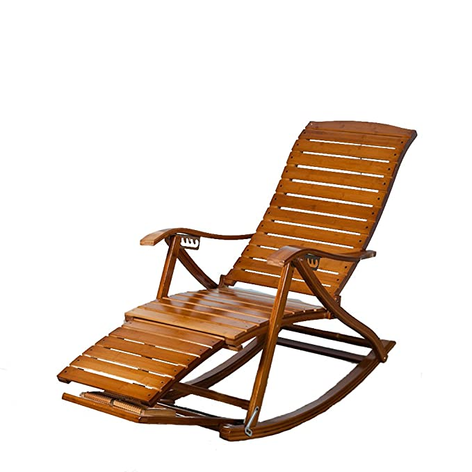 Amazon.com : L&J Rocking Chairs, Portable Folding Chairs ...