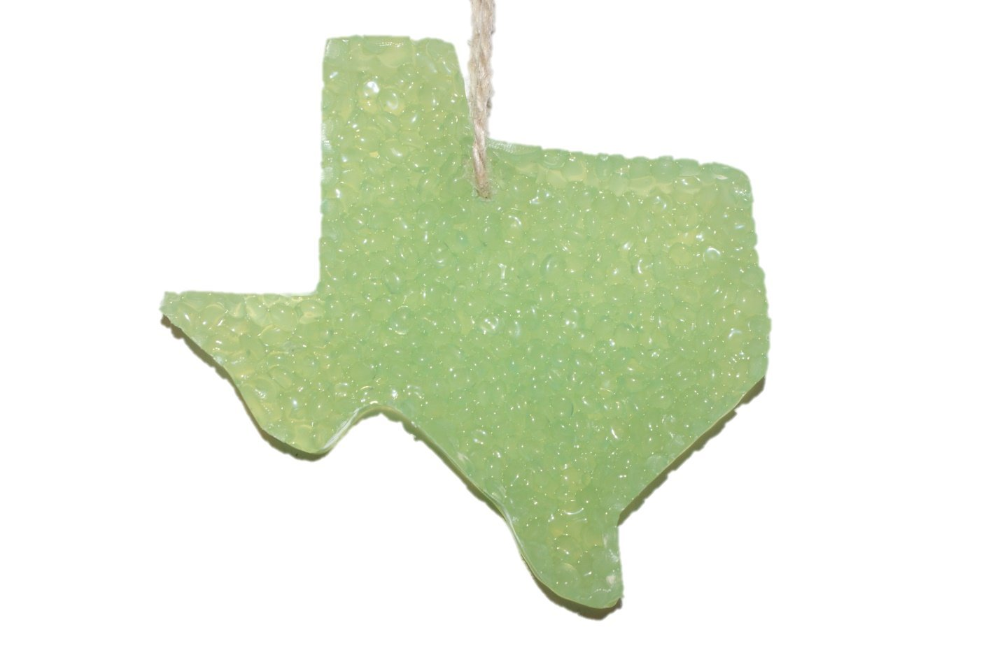 ChicWick Car Candle Jolly Rancher Texas Shape Car Freshener Fragrance