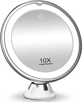 Koolorbs New Version 10X Magnifying Makeup Mirror
