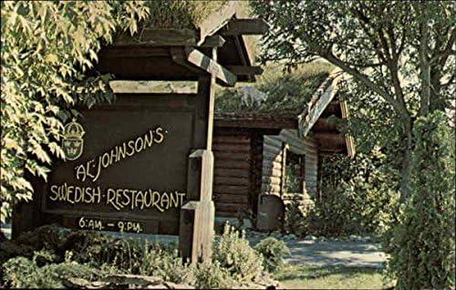 Wisconsin collectors postcard Sister Bay Al Johnson/'s Swedish Restaurant