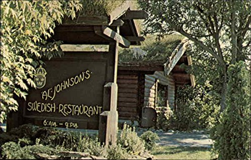 Al Johnson's Swedish Restaurant and Butik Sister Bay, Wisconsin Original Vintage Postcard