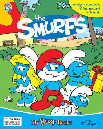 The Smurfs My Busy Book (Smurfs Figurine)