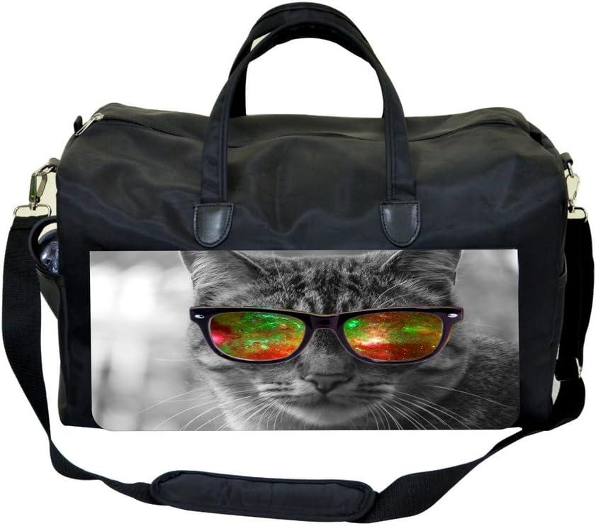 Cutest Kitten in Greyscale Sports Bag
