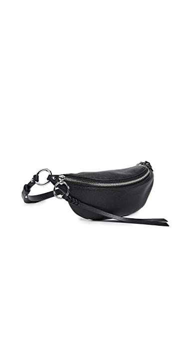 0ef4acc43e9a Amazon.com: Rebecca Minkoff Women's Bree Mini Belt Bag, Black, One ...