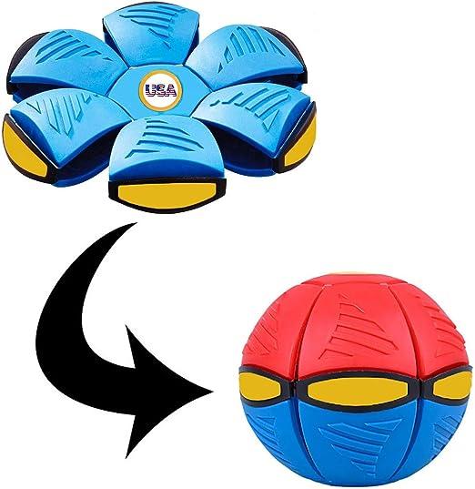 VOAK Ufo Magic Ball - Frisbee que se convierte en pelota, para ...