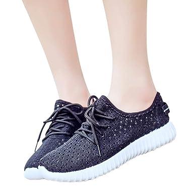 Mode Sneaker Laufschuhe Turnschuhe Mesh Damen Joggingschuhe vy08nwmNOP
