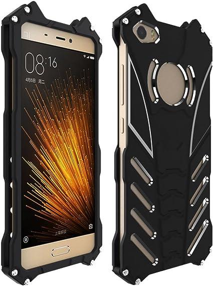 Funda Xiaomi Mi5 M5,Grandcaser lujo metal aluminio de Dura Funda carcasa con Soporte para Xiaomi Mi5 M5: Amazon.es: Electrónica