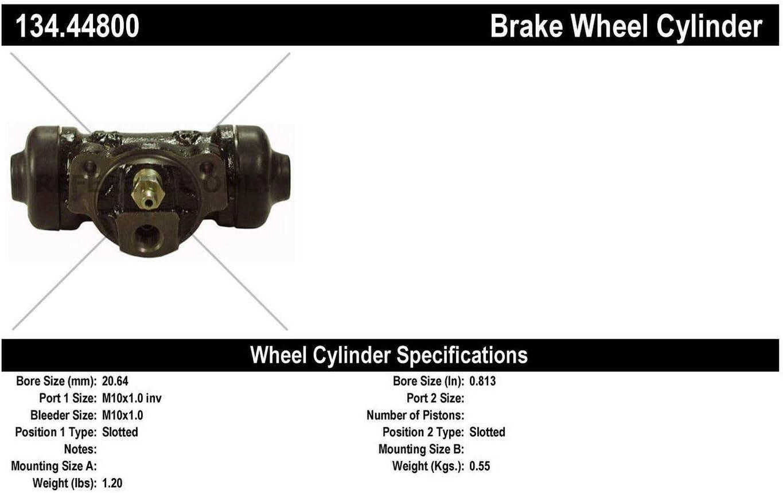 Centric Parts 134.42308 Drum Brake Wheel Cylinder