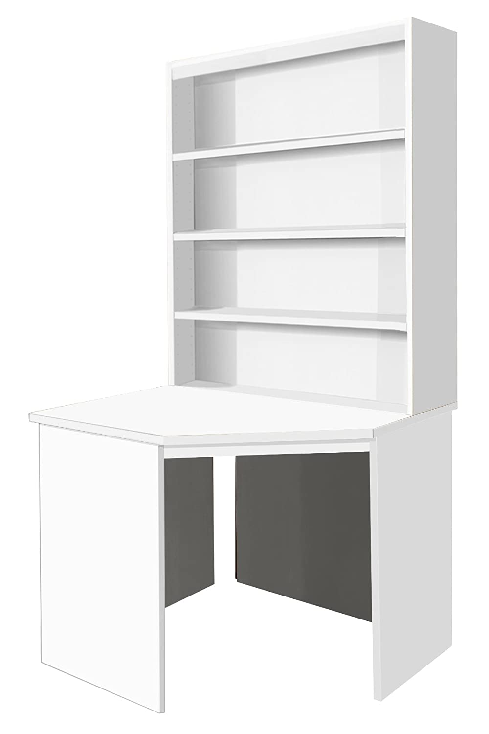 Home Office Furniture UK Computer Table Workstation Desk HUTCH Book ...