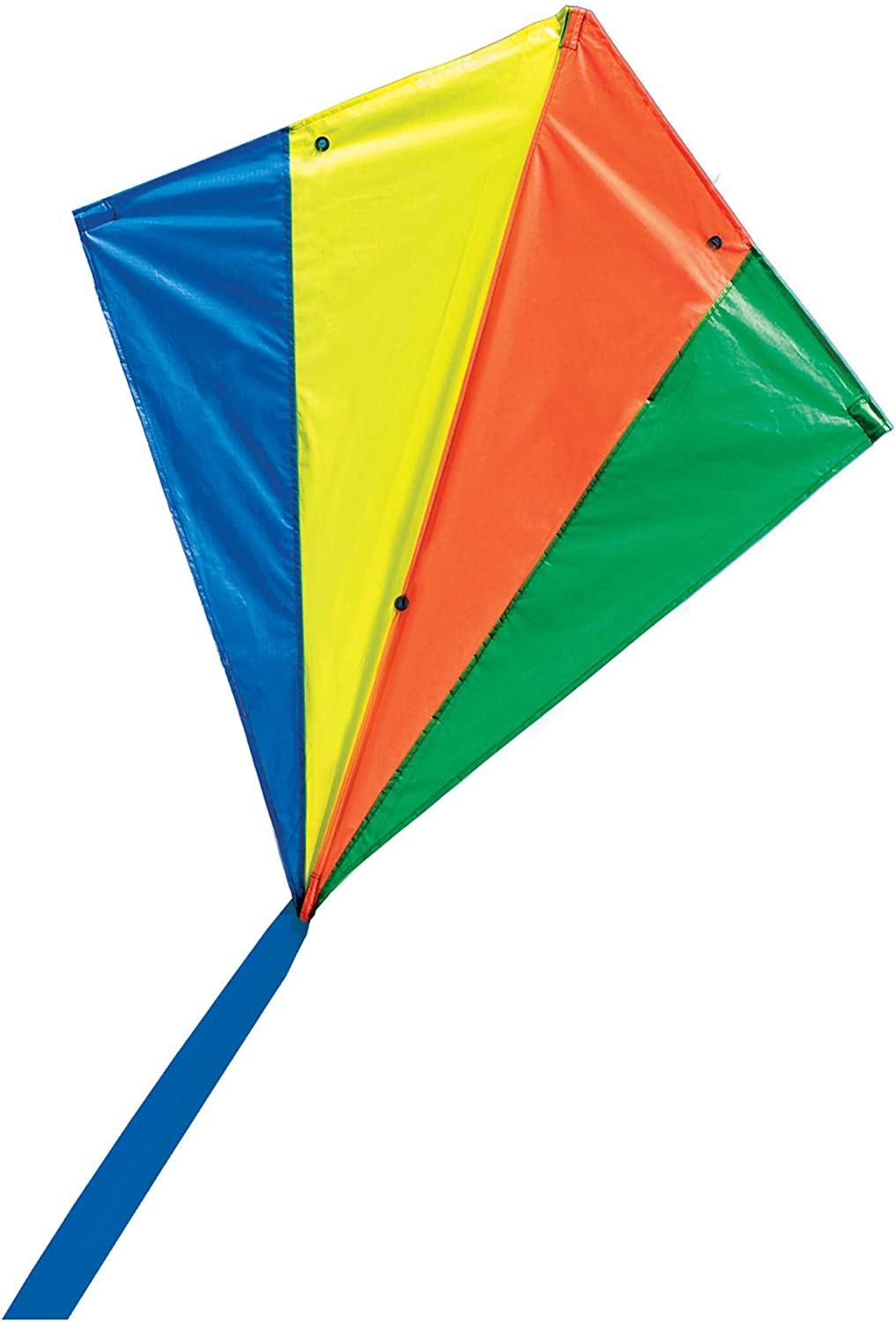 Colorful Rainbow Kite With Winder Board String Outdoor Children Kids Toy Game