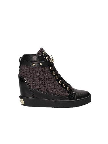 new style 19e51 16b20 Guess Damen Stiefeletten Furley FLFRY3-FAL12 schwarz 530485 ...