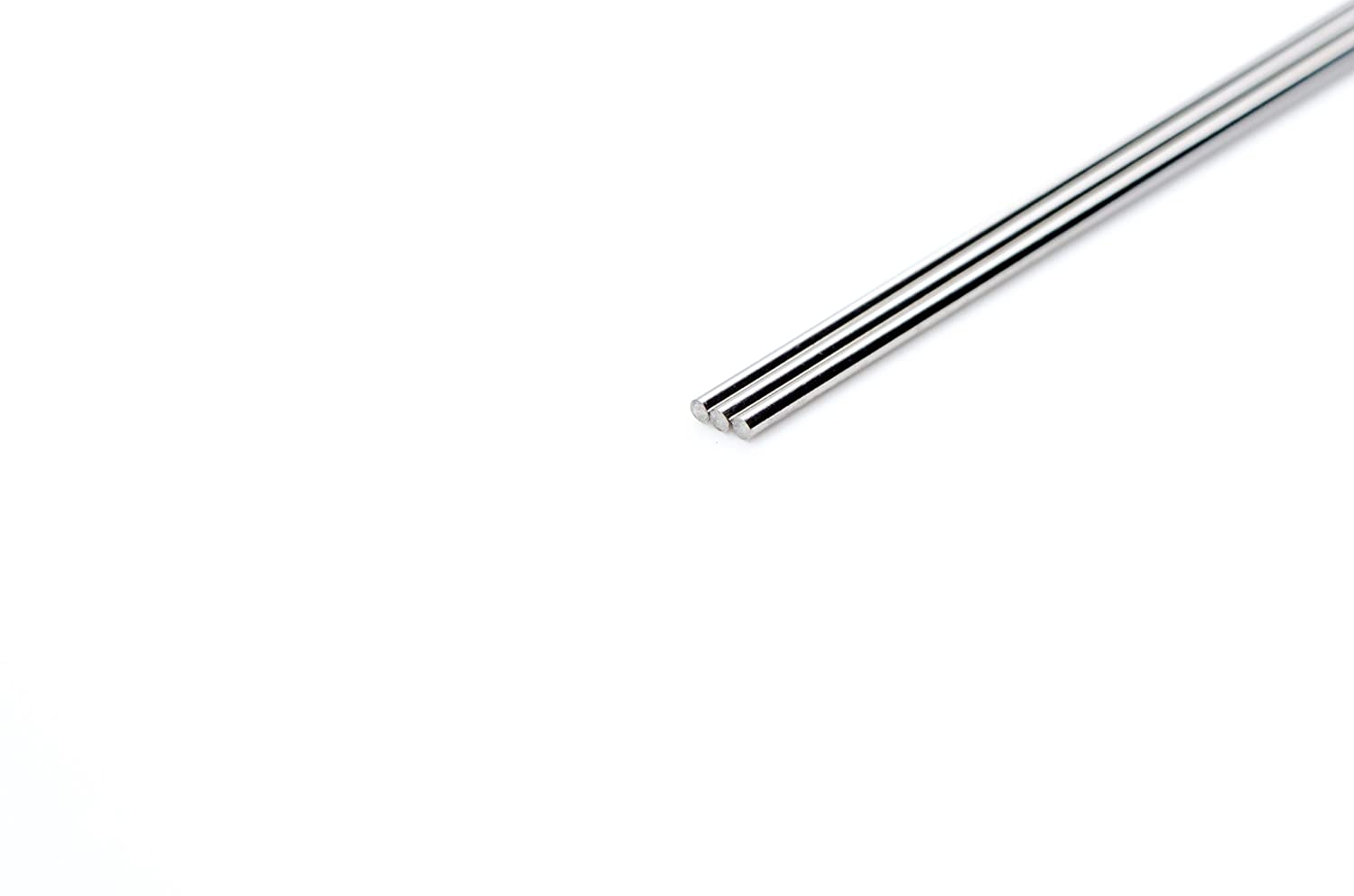 ASTM A313 73 Length Pack of 5 Bright Finish Spring Temper WYTCH304-563 304 Stainless Steel Wire Pack of 5 0.126 Diameter Precision Tolerance 0.126 Diameter 73 Length Wytech