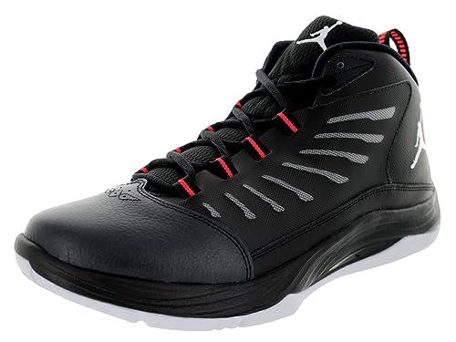 differently b1873 4ec60 Nike Air Jordan Prime Fly 2 Mens Basketball Shoes, Negro Blanco Infrarrojo  23