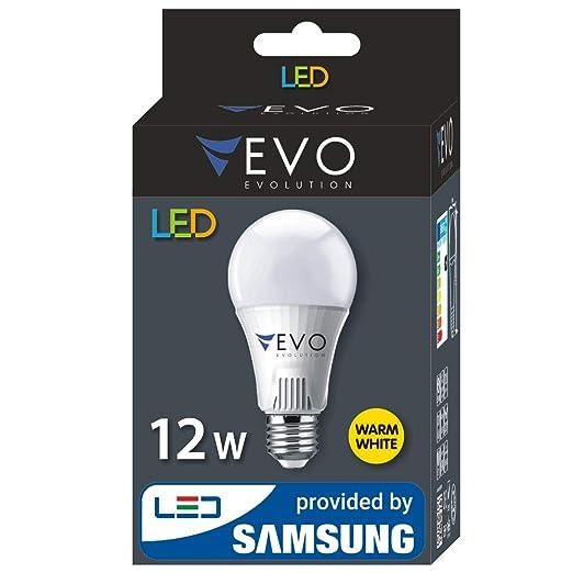 Bombilla LED 12 W E27 a + 1000 lúmenes, marca de calidad, SMD2835 Samsung