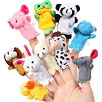 House of Quirk Animal Soft Hands Finger Puppets (Set of 10)