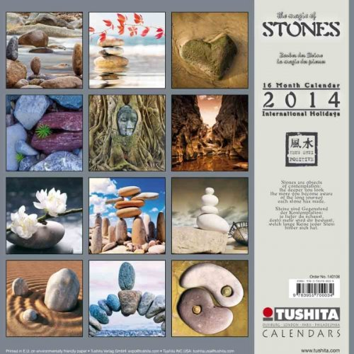 Magic of Stones 2014 (Mindful Editions) by Brand: Tushita Verlags GmbH