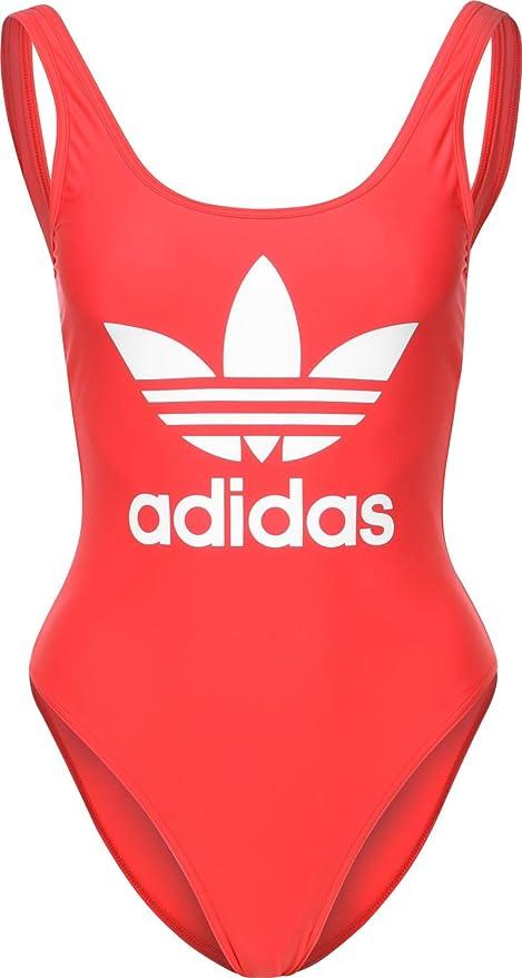 38d4a8159a1f adidas 3 Stripes Trefoil Costume da Bagno  Amazon.it  Sport e tempo libero