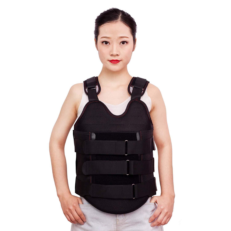 腰椎装具、脊柱側Post症姿勢矯正器調節可能な整形装具固定装具デバイス男性用女性脊椎リハビリテーション装具