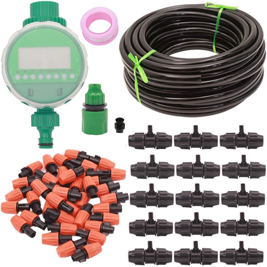 ガーデンスプレー灌漑セットアトマイズマイクロスプレー自動タイミングコントローラ散水装置用ガーデン温室、フラワーベッド、パティオ、芝生 (Size : 20M set) B07T6RRT36  20M set