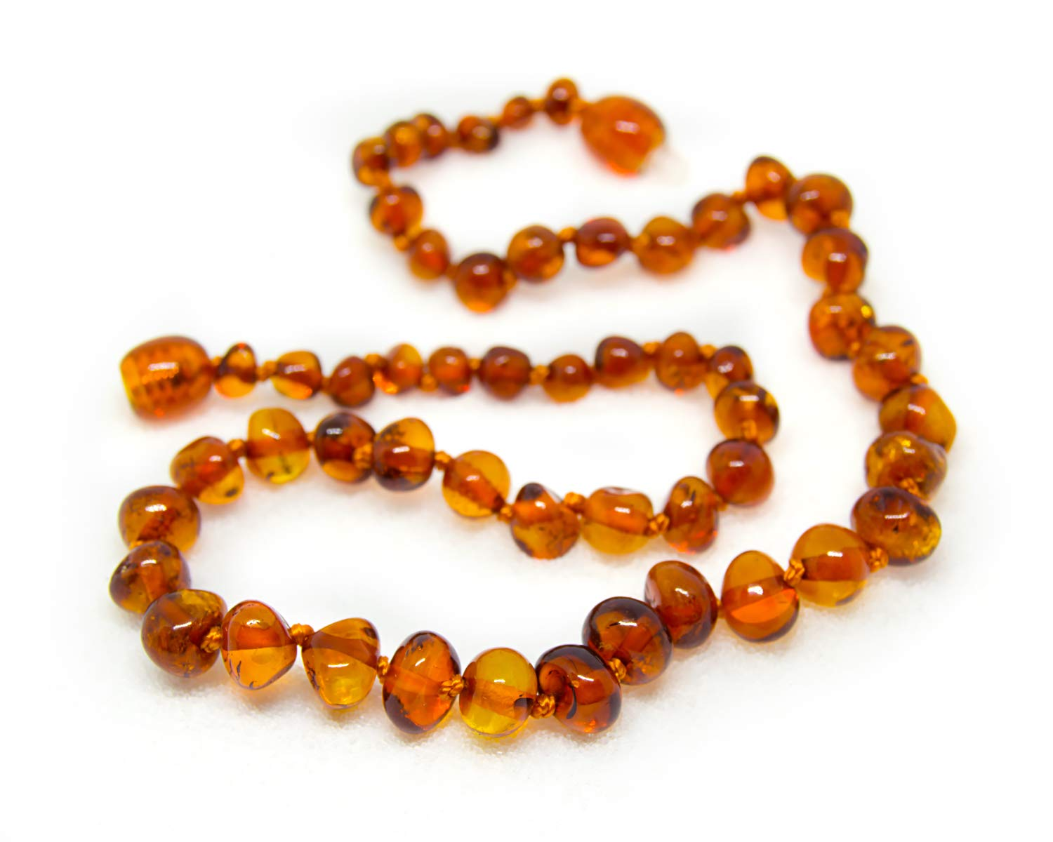 amazon com the art of cure original baltic amber teething necklace