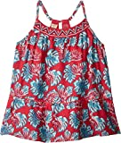 Roxy Little Girls' Boomberg Love Dress, Rouge Red Abyssal Tropical, 4