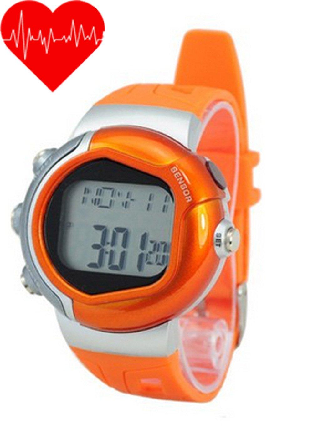Sinokit Color naranja pulsómetro calorías contador de ...