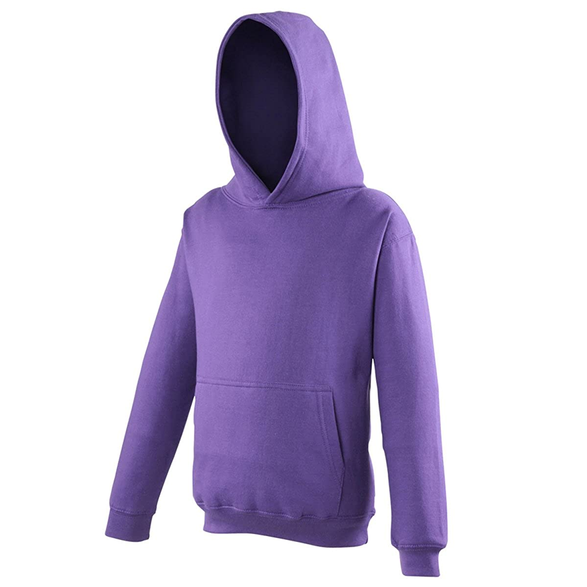 AWDis Hoods Kids Hoodie Purple Streetwear Hoodies